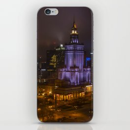 Warsaw on Christmas iPhone Skin