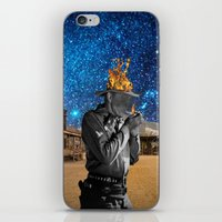 western iPhone & iPod Skins featuring Western by Cs025