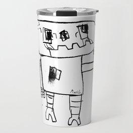Robot Wave ByeBye Travel Mug