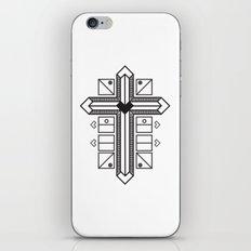 Mighty cross iPhone & iPod Skin