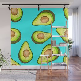 Avocado Loveliness Wall Mural