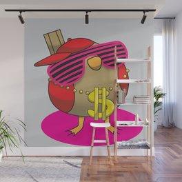 Gangsta Bird Wall Mural