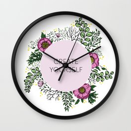create yourself Wall Clock