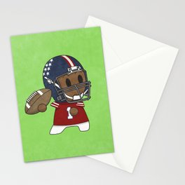 American Football II Stationery Cards