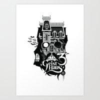 Geist Haus 3  Art Print