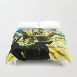 Power, struggle and survival. Duvet Cover