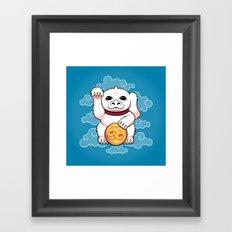 Lucky Dragon Framed Art Print