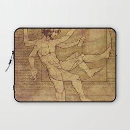 Vitruvian Man 2.0 Laptop Sleeve