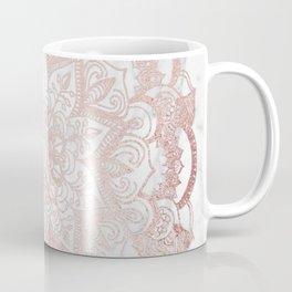 Rose Gold Mandala Star Coffee Mug