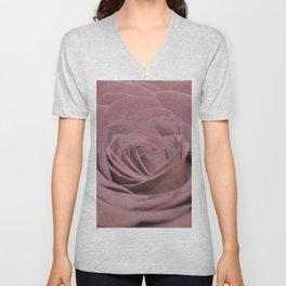 Light Pink Rose Unisex V-Neck