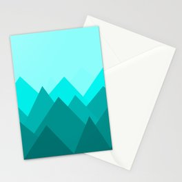 Simple Montains Stationery Cards
