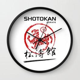 Shotokan Karate Tiger Wall Clock