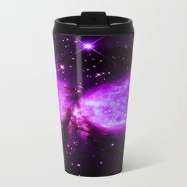 Space Galaxy : A star is born Purple Travel Mug