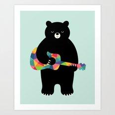 Happy Song Art Print