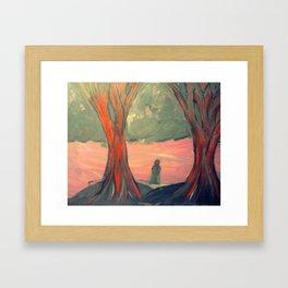 Lonely Soul Framed Art Print