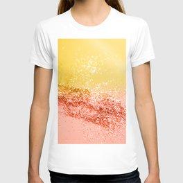 Tropical Summer Lady Glitter #2 #shiny #decor #art #society6 T-shirt