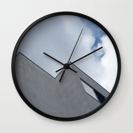 Trapped in the clouds Wall Clock