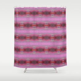 Pink glow 2 Shower Curtain