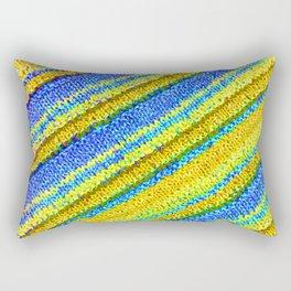 sasazuka knit 6 Rectangular Pillow