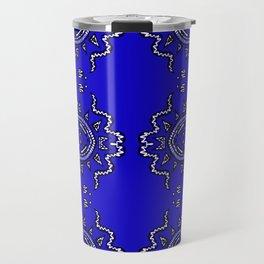 Half of a Mandala System Travel Mug