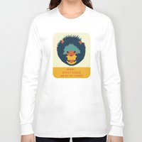 hedgehog Long Sleeve T-shirts featuring Hedgehog by Ariel Wilson