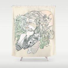 I N K : III Shower Curtain
