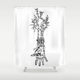 Idle Shower Curtain