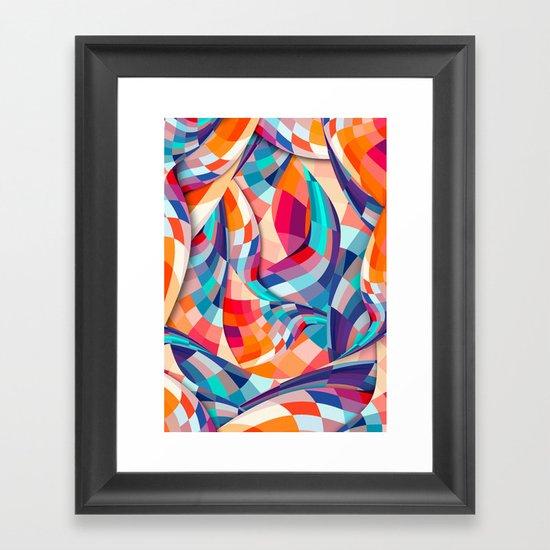 Versicolor Framed Art Print