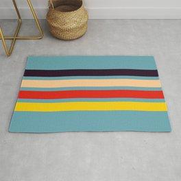 Masako - Classic Retro Stripes Design Rug