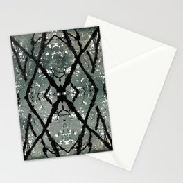 Oregon fall geometry VII Stationery Cards