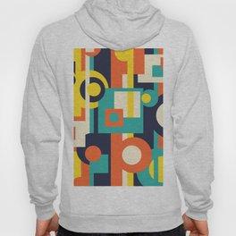 Funky Geometry (Modern Vibrant Color Palette) Hoody