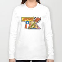 austin Long Sleeve T-shirts featuring Austin TX by Brandon Ortwein