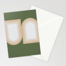 Contemporary Composition 13 Stationery Cards