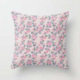 Dakota Prairies: Prairie Rose Throw Pillow