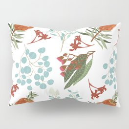 Australian Botanicals - White Pillow Sham