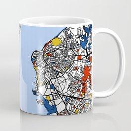 Istanbul mondrian Coffee Mug