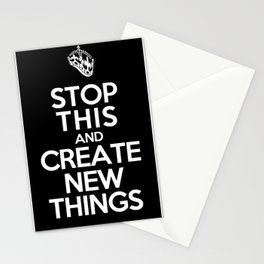 Stop This Stationery Cards