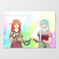 RO BO Canvas Print