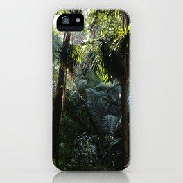 Lush Belizean Jungle iPhone Case