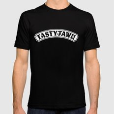 Tasty Jawn Black X-LARGE Mens Fitted Tee