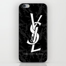 Young | Savvy | & Lavish | YS&L Invert iPhone Skin