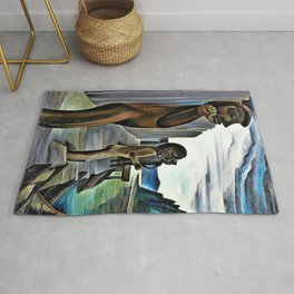 Emily Carr - Blunden Harbour - Digital Remastered Edition Rug