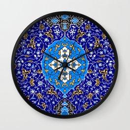 Persian Dreams 1 Wall Clock