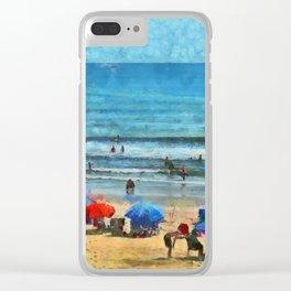 Low Tide PhotoArt Clear iPhone Case