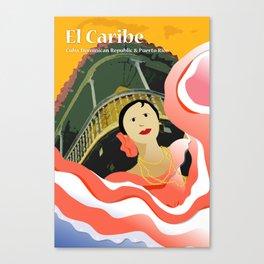 Hispanic Heritage Series - El Caribe Canvas Print