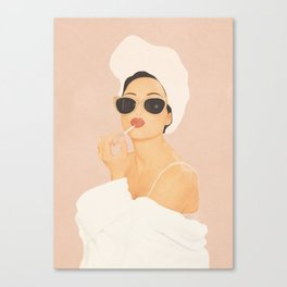 Morning Routine Canvas Print