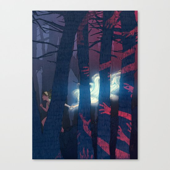 Anabelle, the human Canvas Print