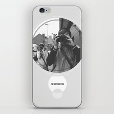 I'm Watching You. iPhone & iPod Skin