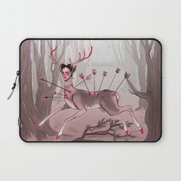 The Wounded Deer Laptop Sleeve