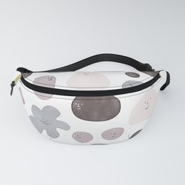 Happy Shapes Fanny Pack